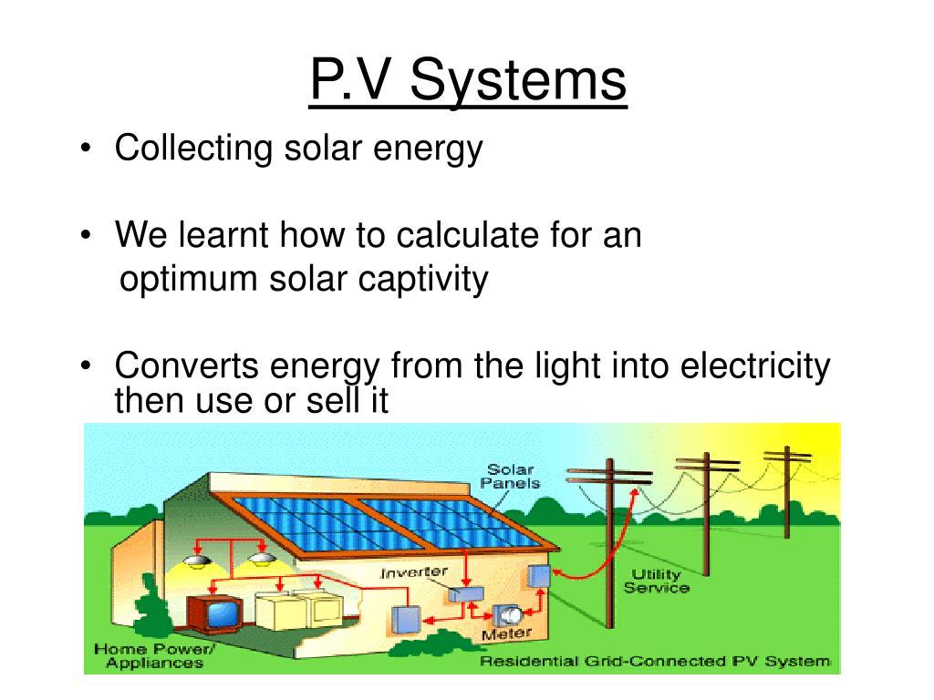 P.V Systems