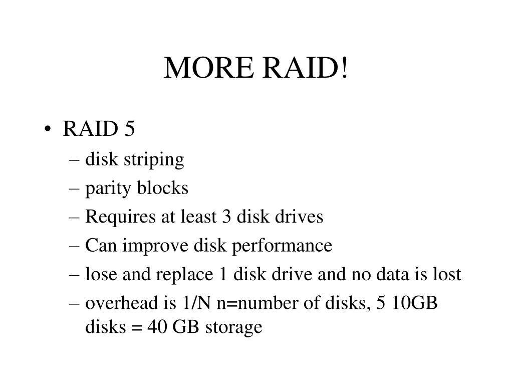 MORE RAID!