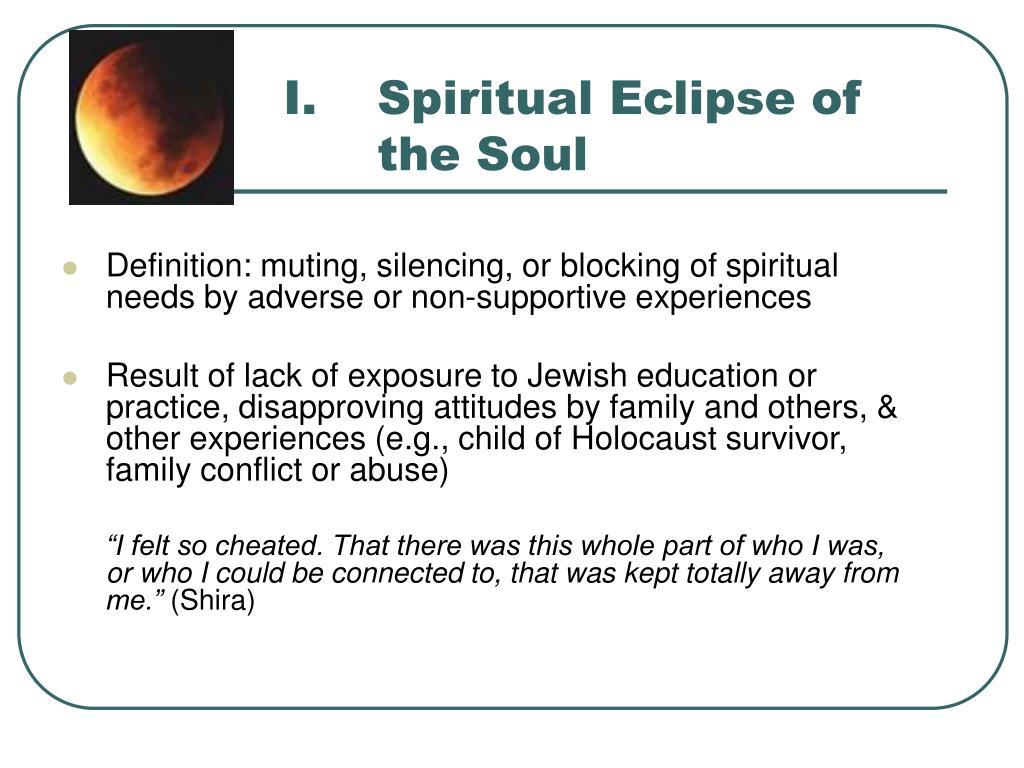 Spiritual Eclipse of