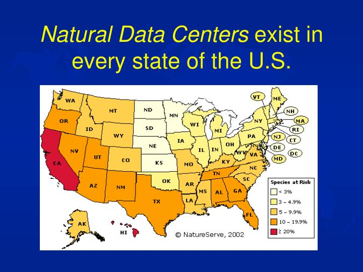 Natural Data Centers