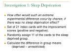 investigation 1 sleep deprivation11