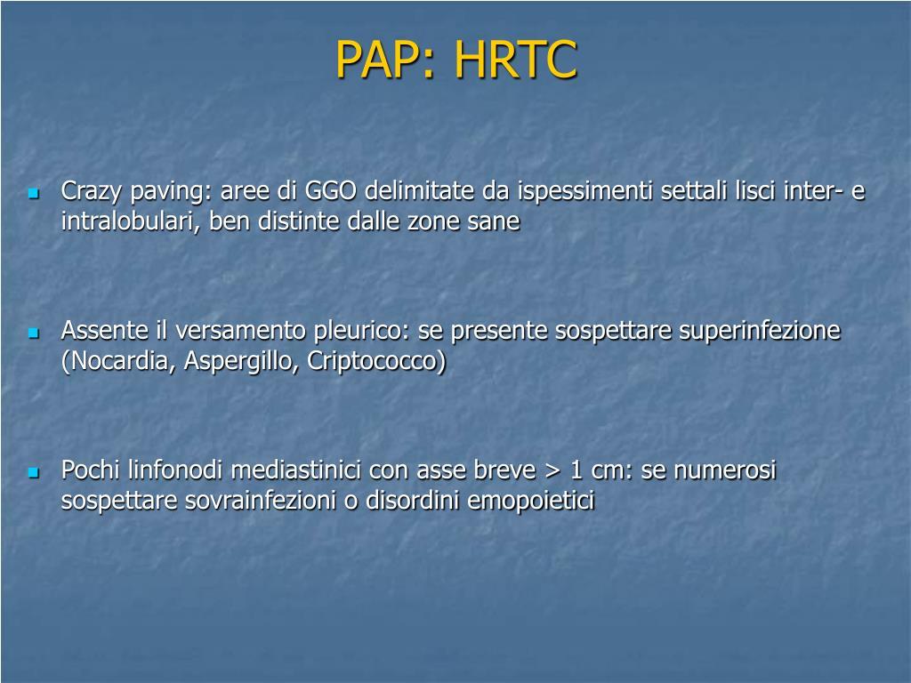 PAP: HRTC