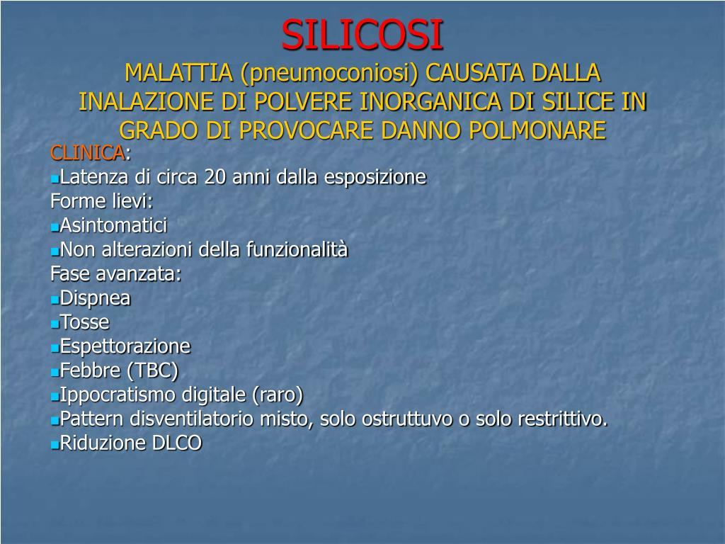 SILICOSI