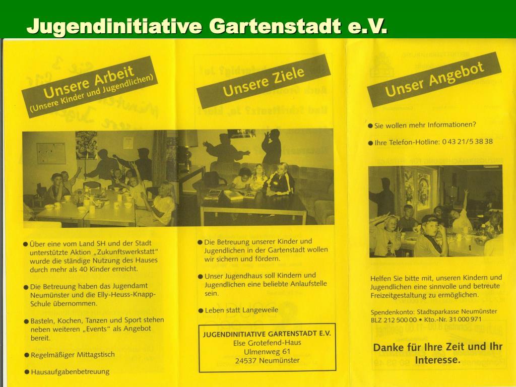 Jugendinitiative Gartenstadt e.V.