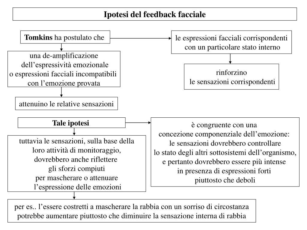 Ipotesi del feedback facciale