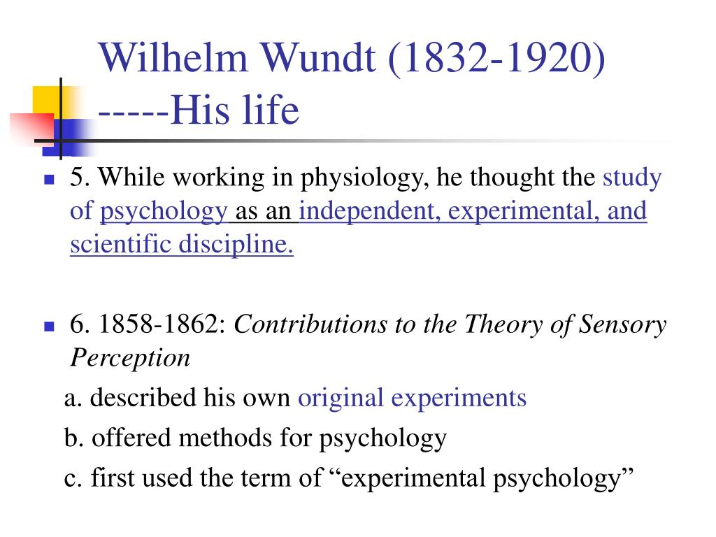 A History of Psychology - PowerPoint PPT Presentation
