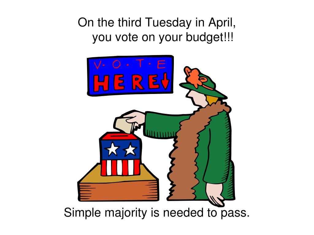 On the third Tuesday in April,