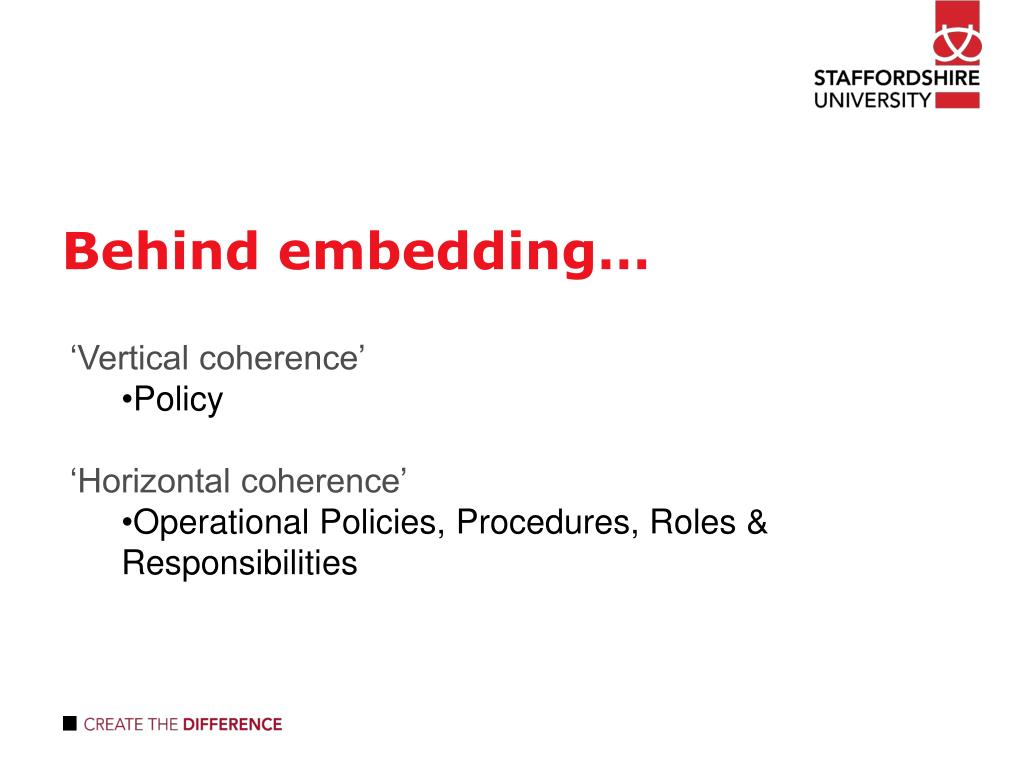 Behind embedding…