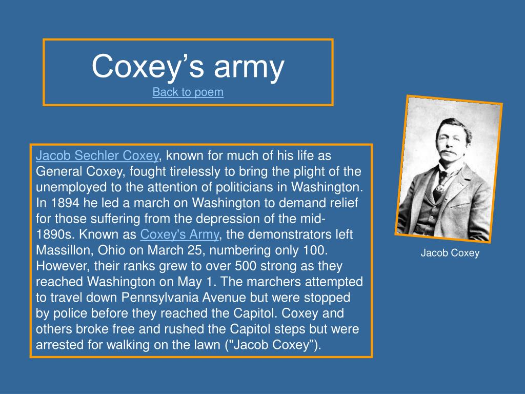 Coxey's army