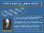 what is good for general motors back to poem