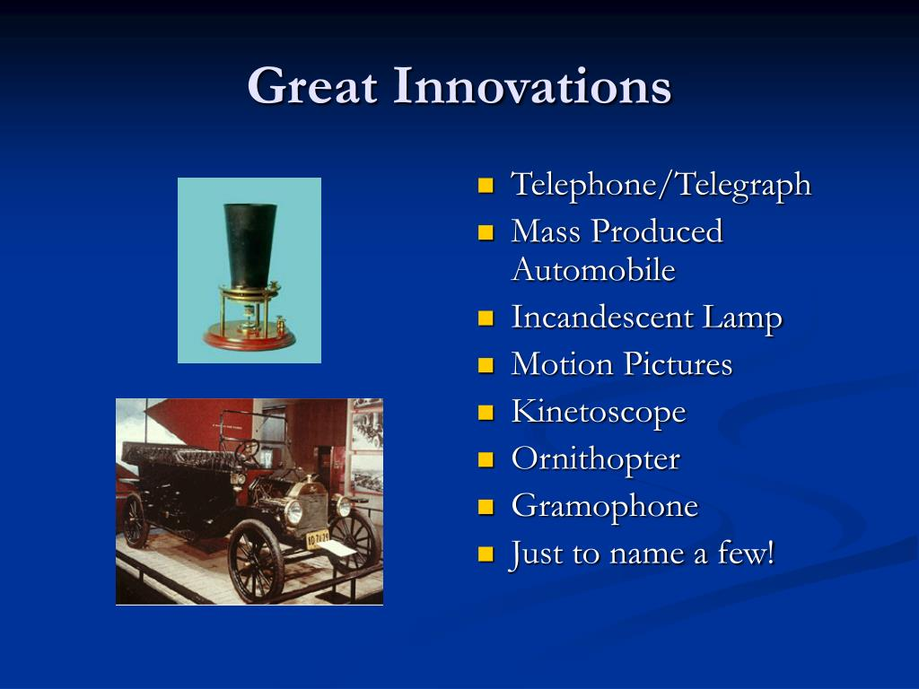 Great Innovations