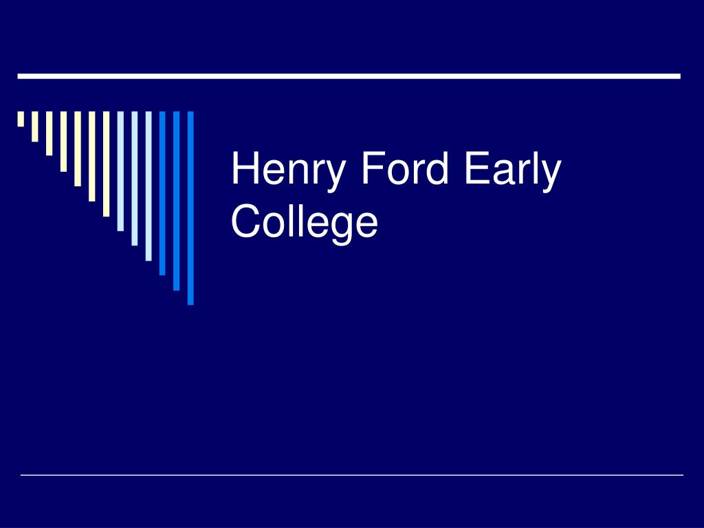 Henry Ford Early College