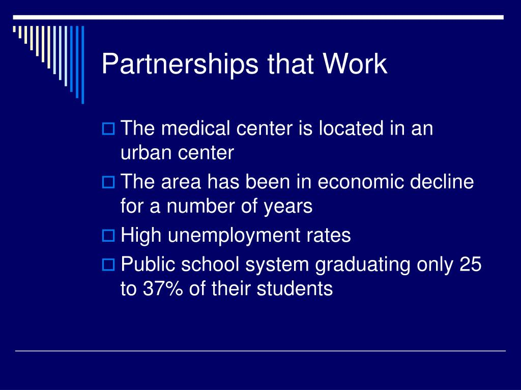 Partnerships that Work
