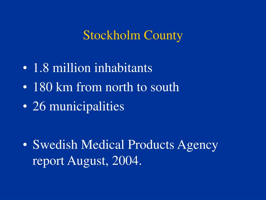 Stockholm County