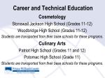 career and technical education27