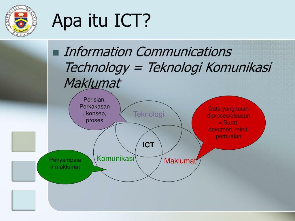 Apa itu ICT?