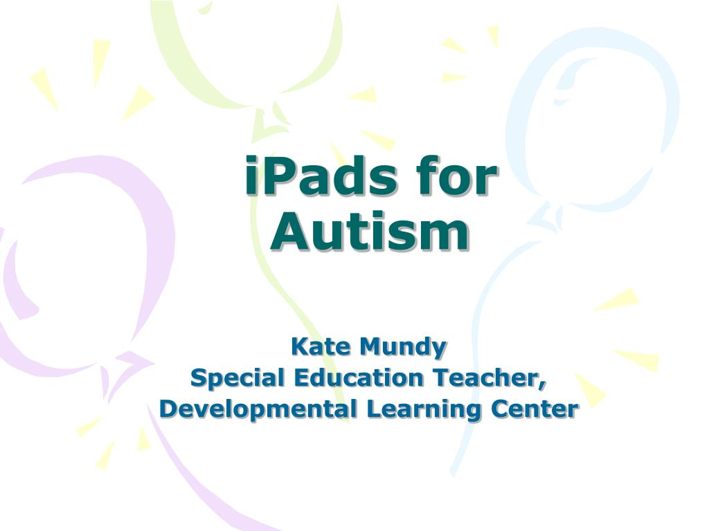ipads for autism