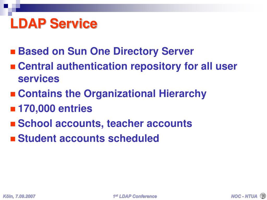 LDAP Service
