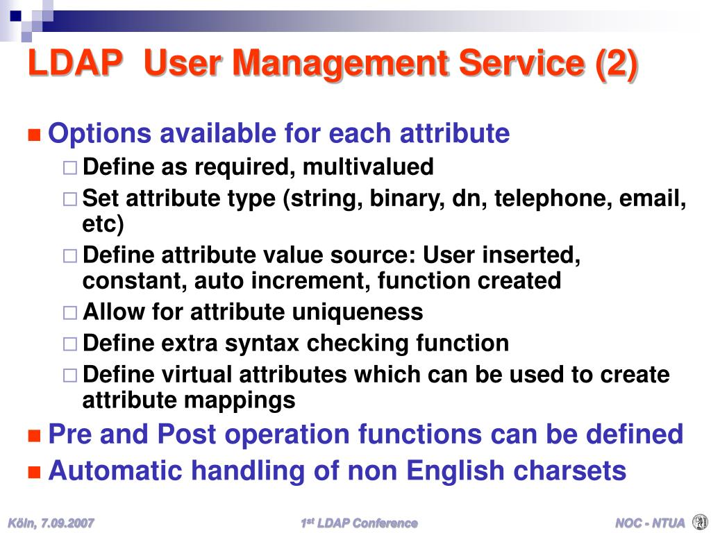 LDAP  User Management Service (2)