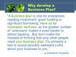 why develop a business plan6