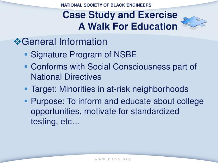 Case Study and Exercise