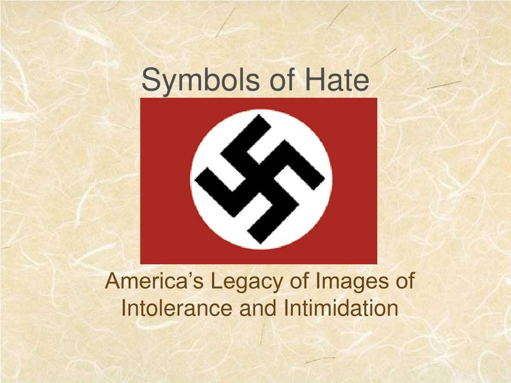 Symbols of Hate
