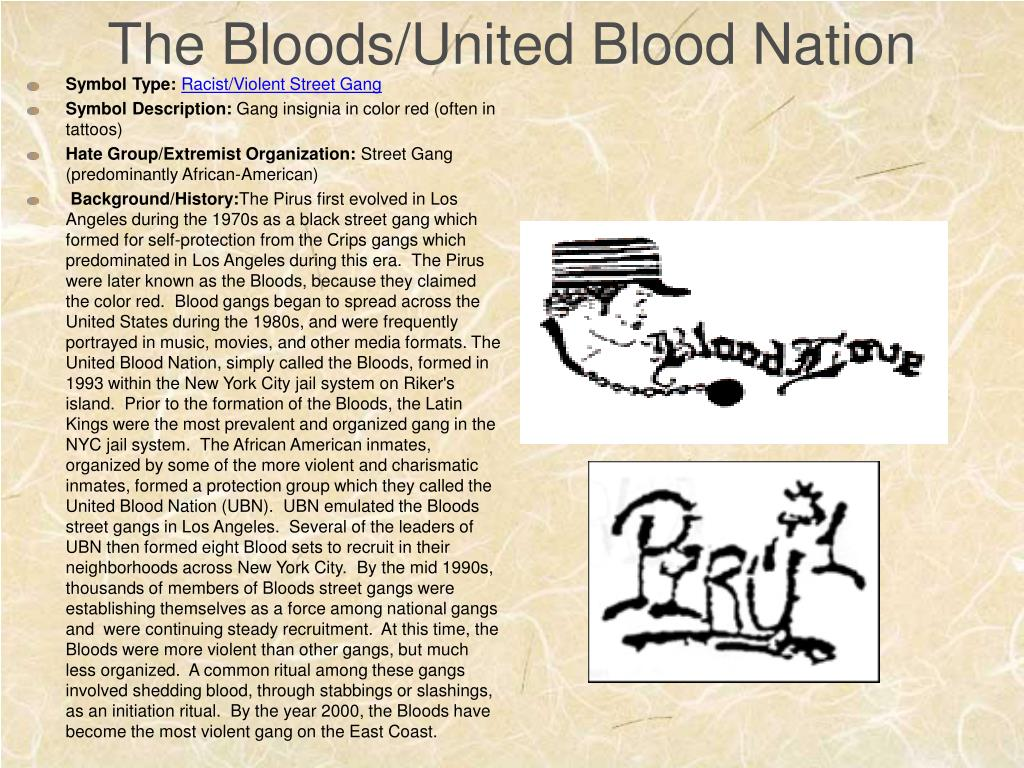 The Bloods/United Blood Nation
