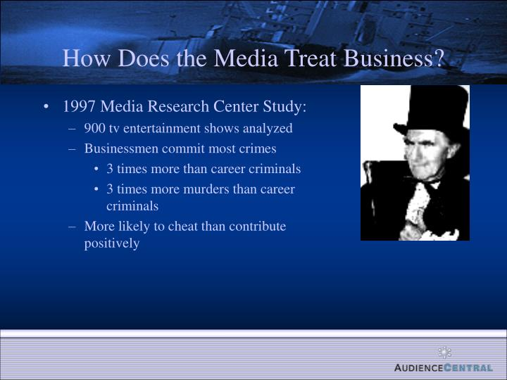 How Does the Media Treat Business?