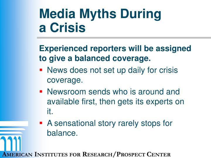 Media Myths During