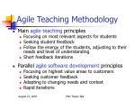 agile teaching methodology