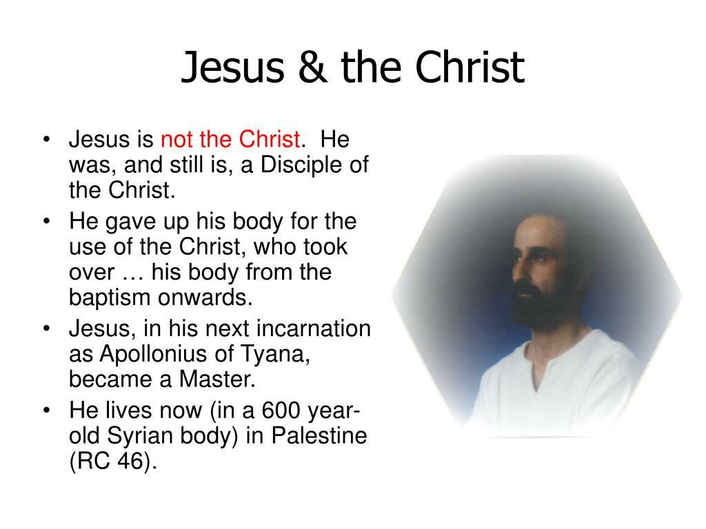 Jesus & the Christ