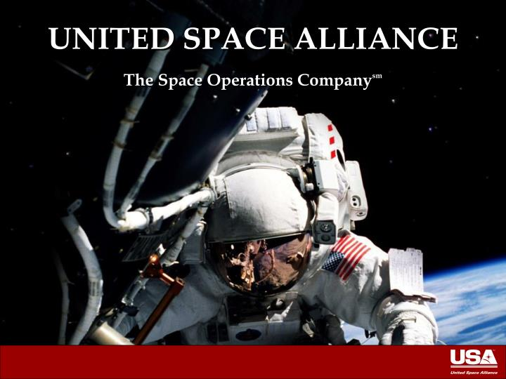 united space alliance the space operations company sm