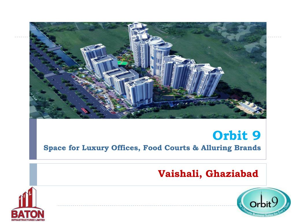 orbit 9 space for luxury offices food courts alluring brands