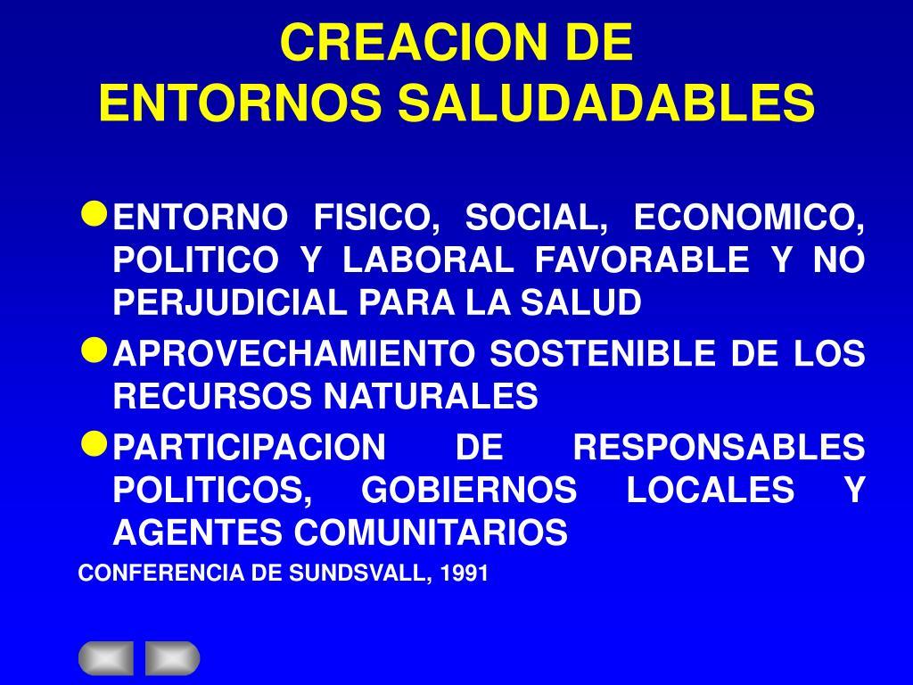 CREACION DE