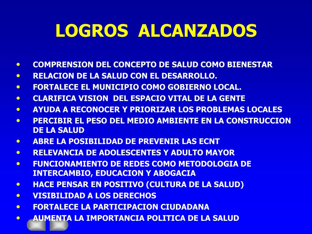 LOGROS  ALCANZADOS