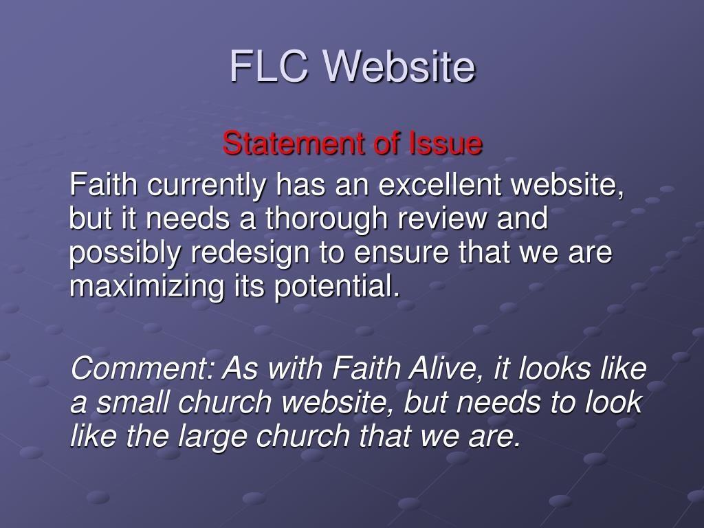 FLC Website