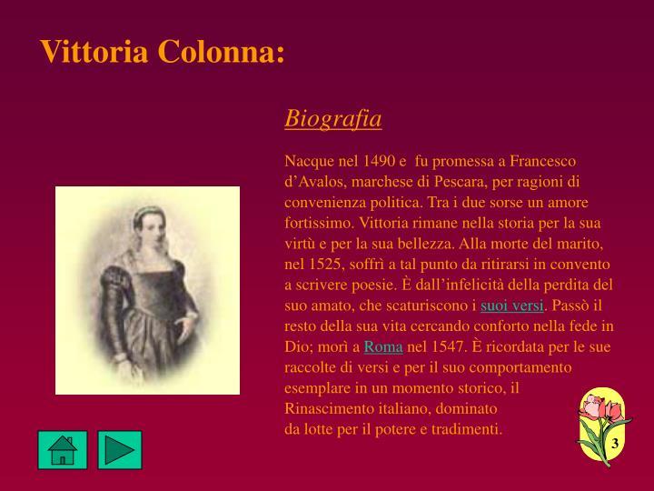 Vittoria Colonna: