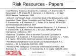 risk resources papers54
