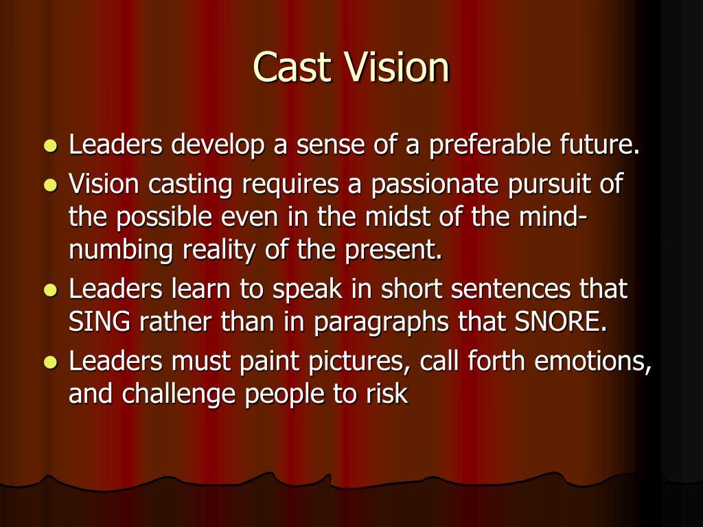 Cast Vision