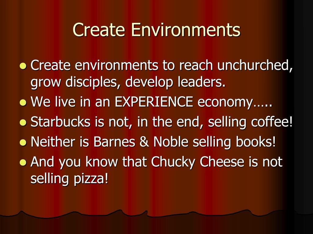 Create Environments