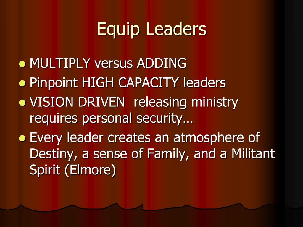 Equip Leaders