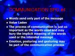 communication spo 415