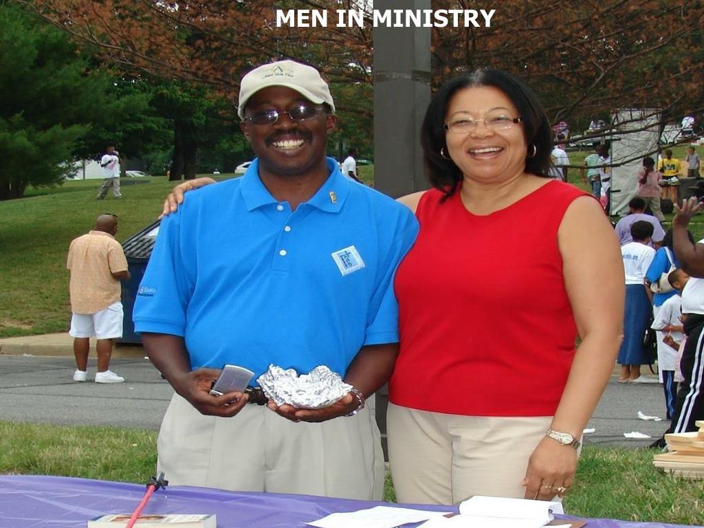 MEN IN MINISTRY