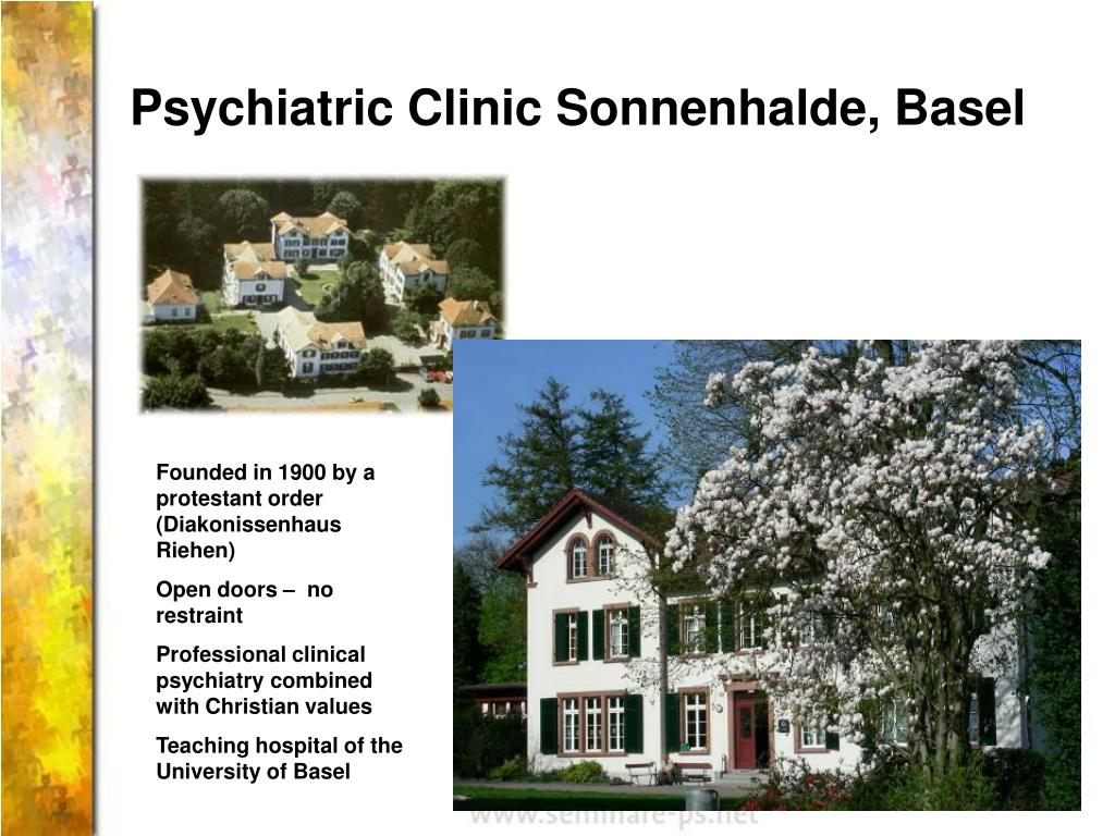 Psychiatric Clinic Sonnenhalde, Basel