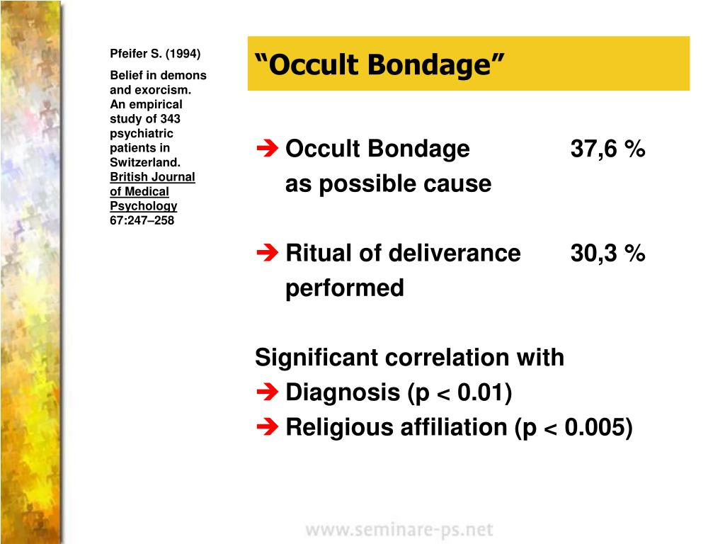 """Occult Bondage"""