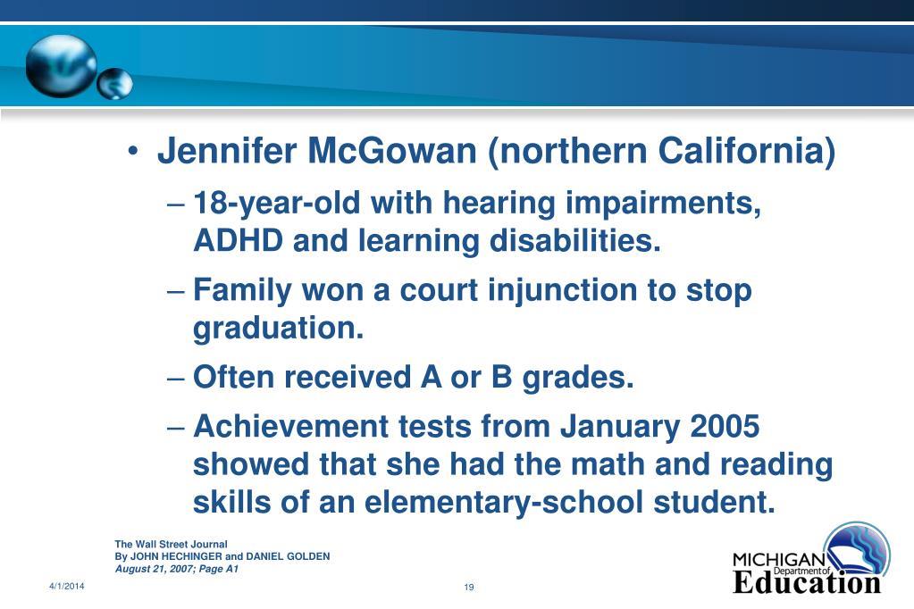 Jennifer McGowan (northern California)