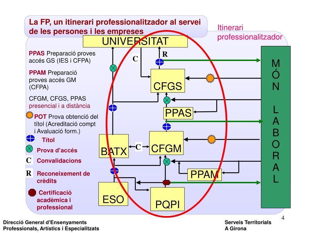 La FP, un itinerari professionalitzador al servei de les persones i les empreses