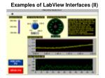 examples of labview interfaces ii