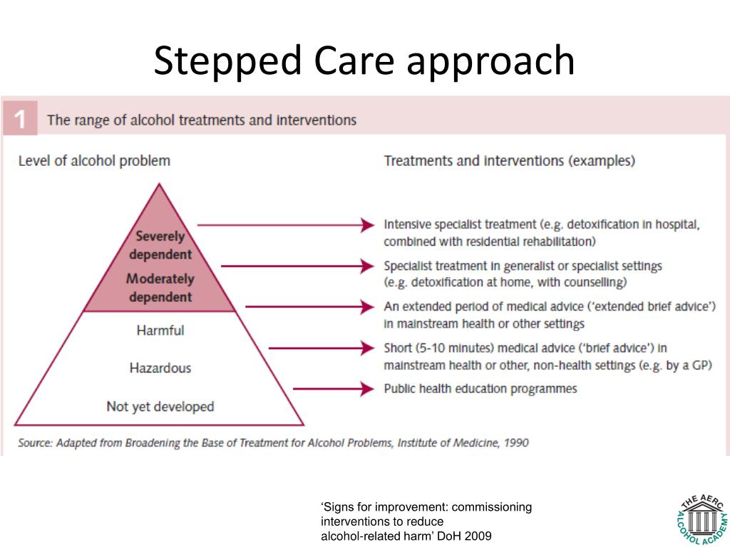 Stepped Care approach
