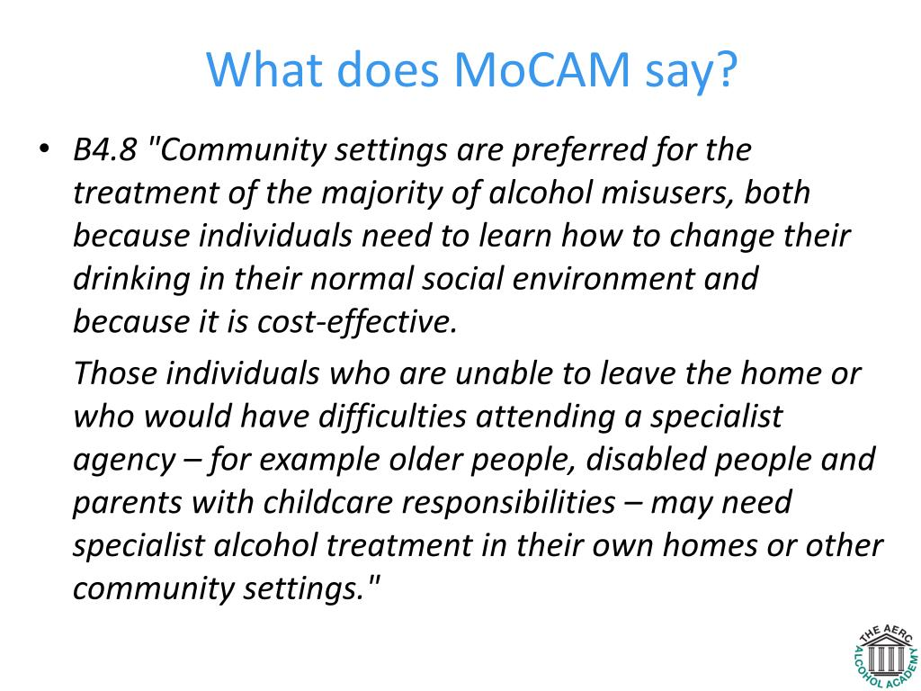 What does MoCAM say?